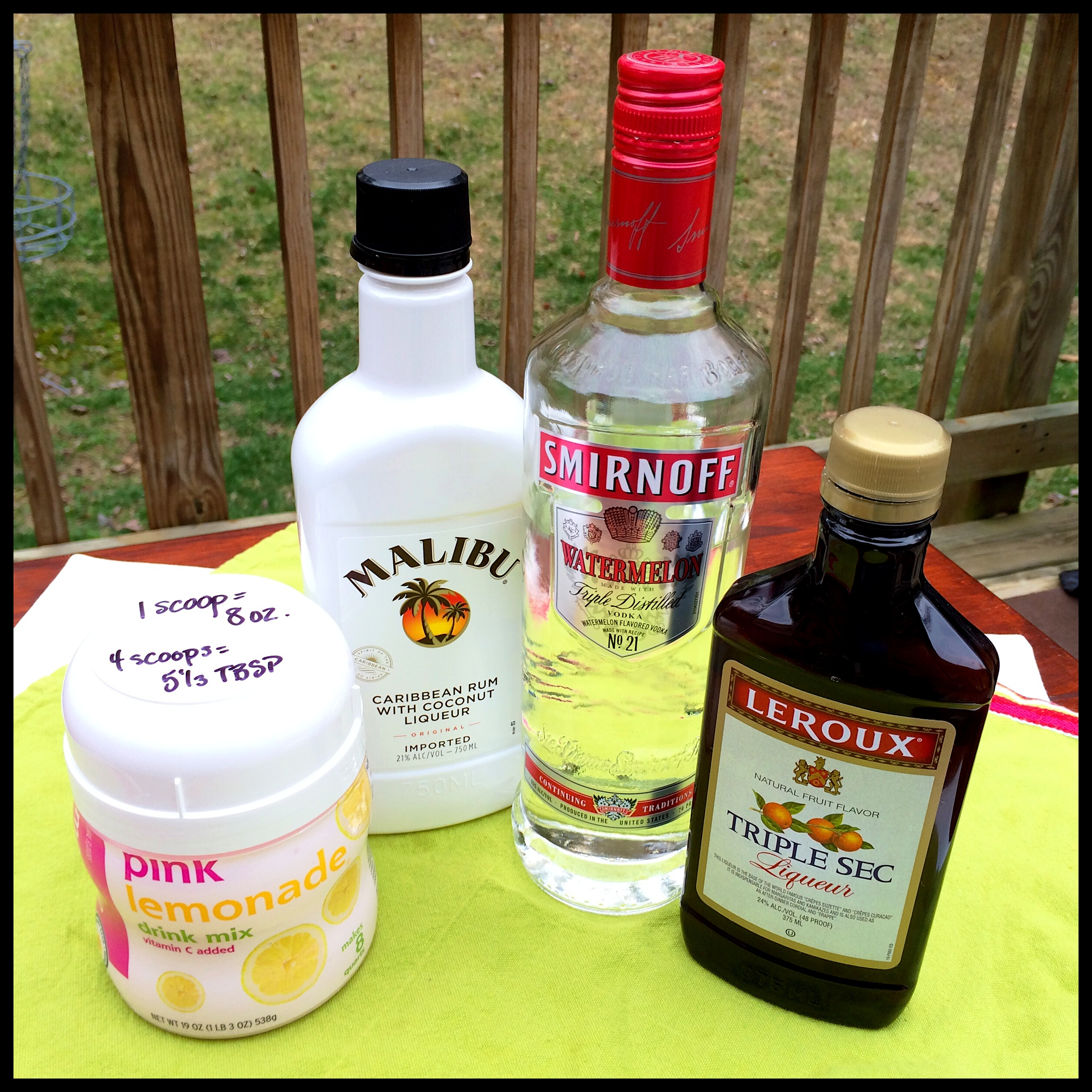 Mixed Drink Recipes With Malibu Coconut Rum